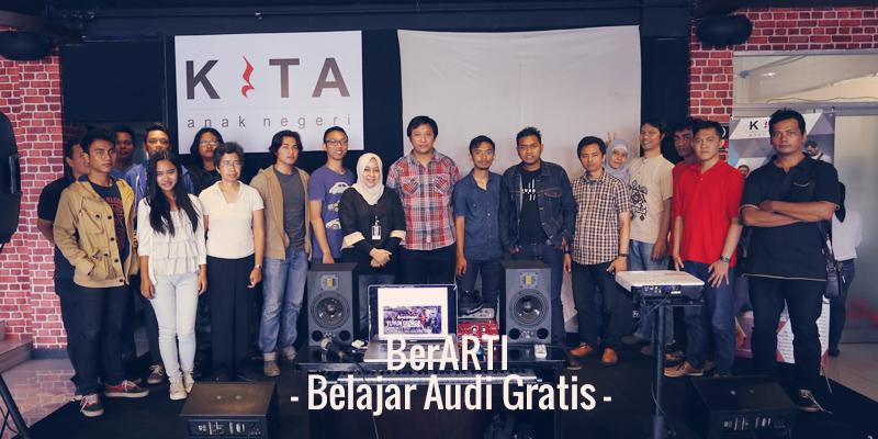 BerArti (Belajar Audio Gratis) #1