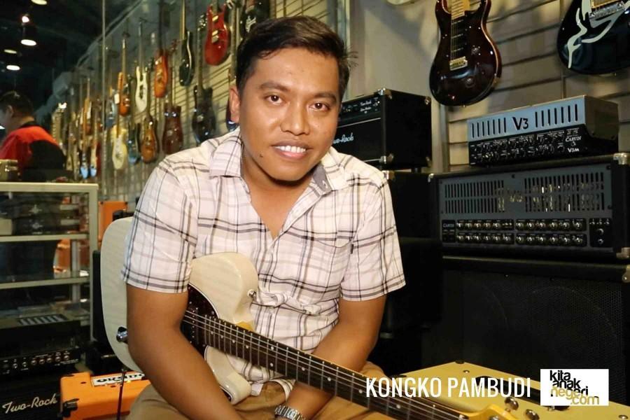 Belajar Gitar Elektrik : Kongko Pambudi – Tips bermain Blues
