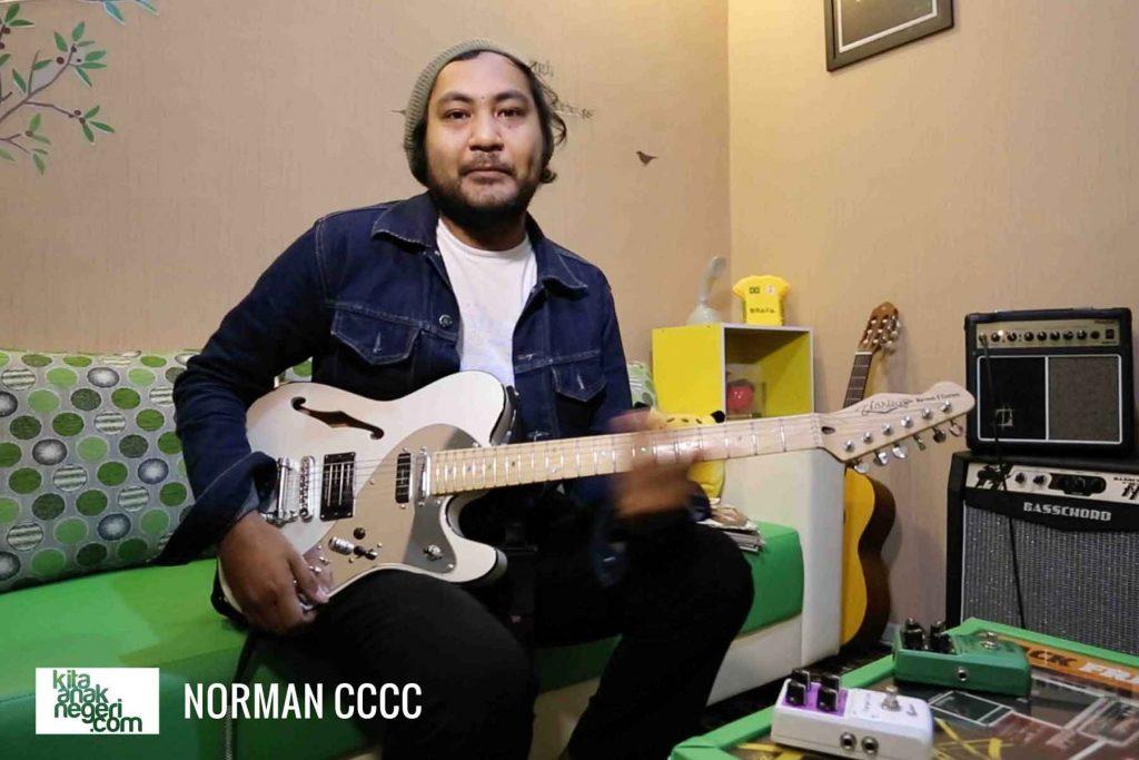 Belajar Gitar Elektrik : Norman C4 – Pendidikan musik bagus diajarkan sejak dini