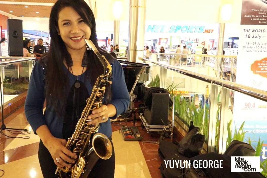Belajar Saxophone : Yuyun George – Tidak ada kata terlambat dalam belajar musik