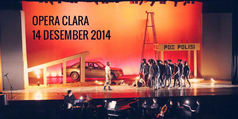 Opera Clara 14 Desember 2014