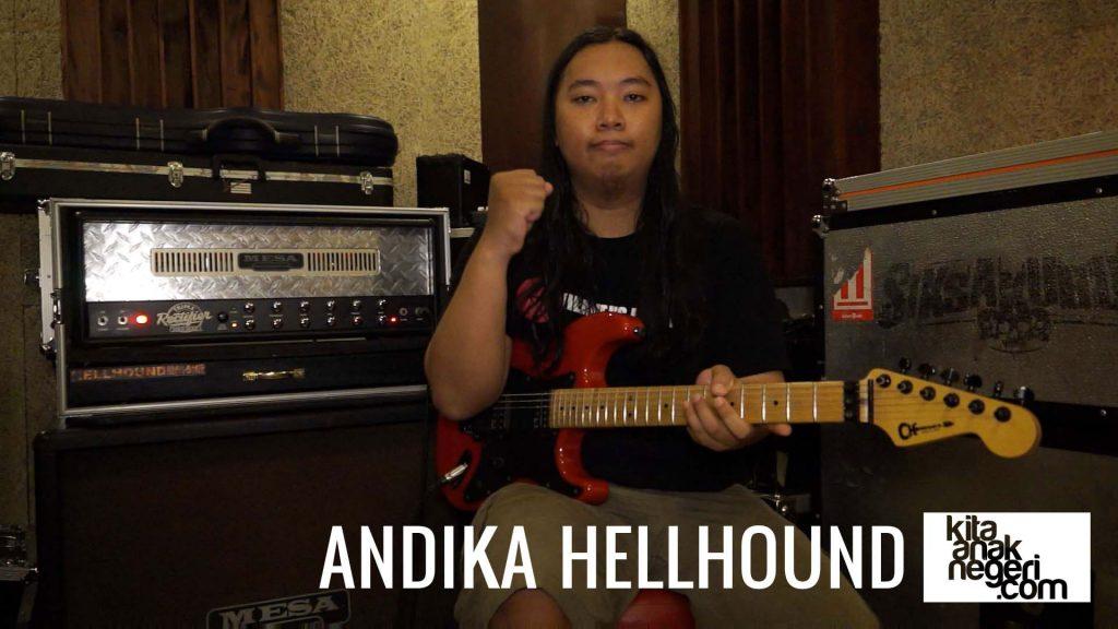 Belajar Gitar Elektrik : Andika Hellhound – Perbedaan Ampli British & American