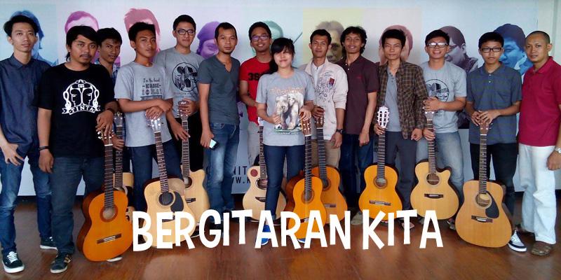 Bergitaran – Kelas Gitar Akustik Gratis