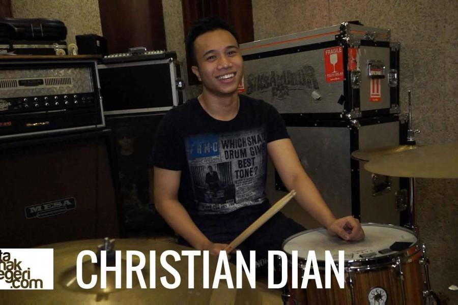 Belajar Drum : Christian Dian – Ostinato di beat Salsa