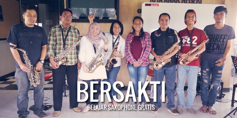 Bersakti (Belajar Saxophone Grati)