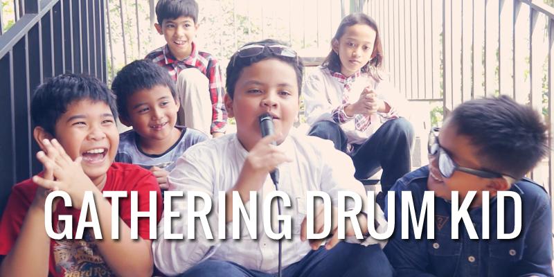 Gathering Murid Drum Kid