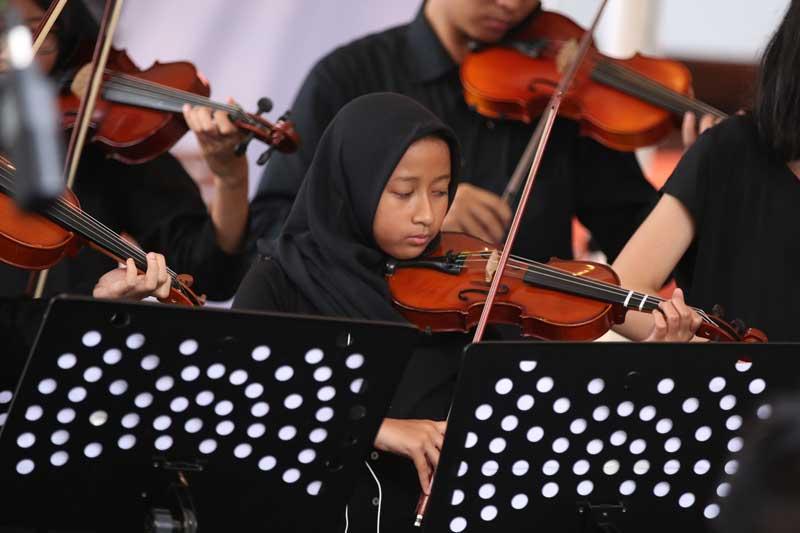 Mau Belajar Violin Gratis? Jangan Bingung, Ayo Ke KITA Anak Negeri