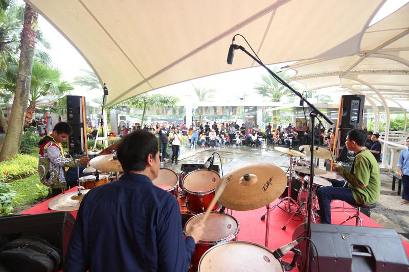 Drum Station 2017 Gebrak Margo City