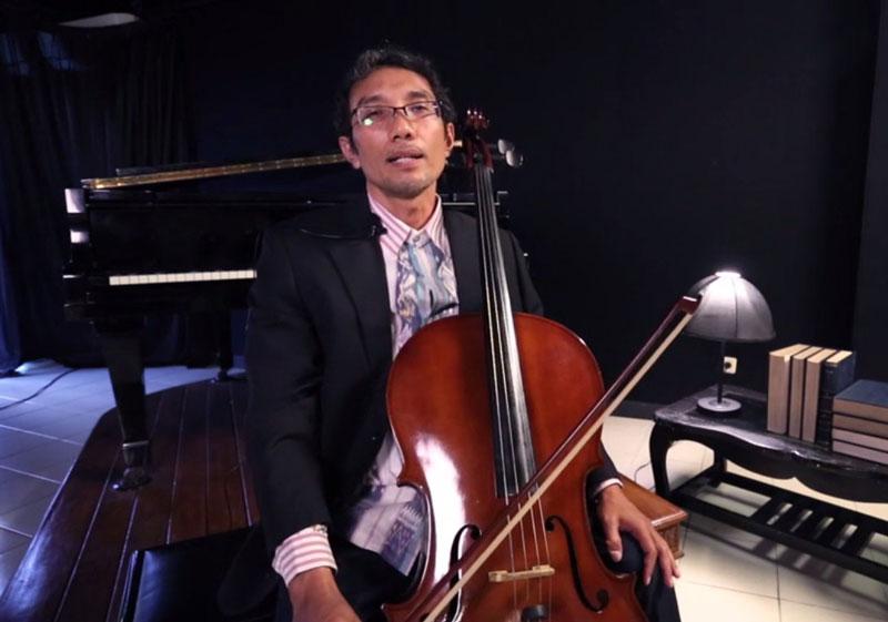 Yuk! Belajar Cello Bersama Syamsul