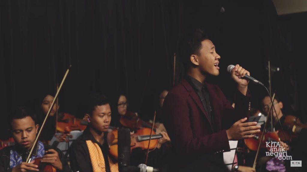 Kolaborasi Megah KITA String Unlimited dan Bintang Dana Prapta Membawakan 'Indonesia Jaya'