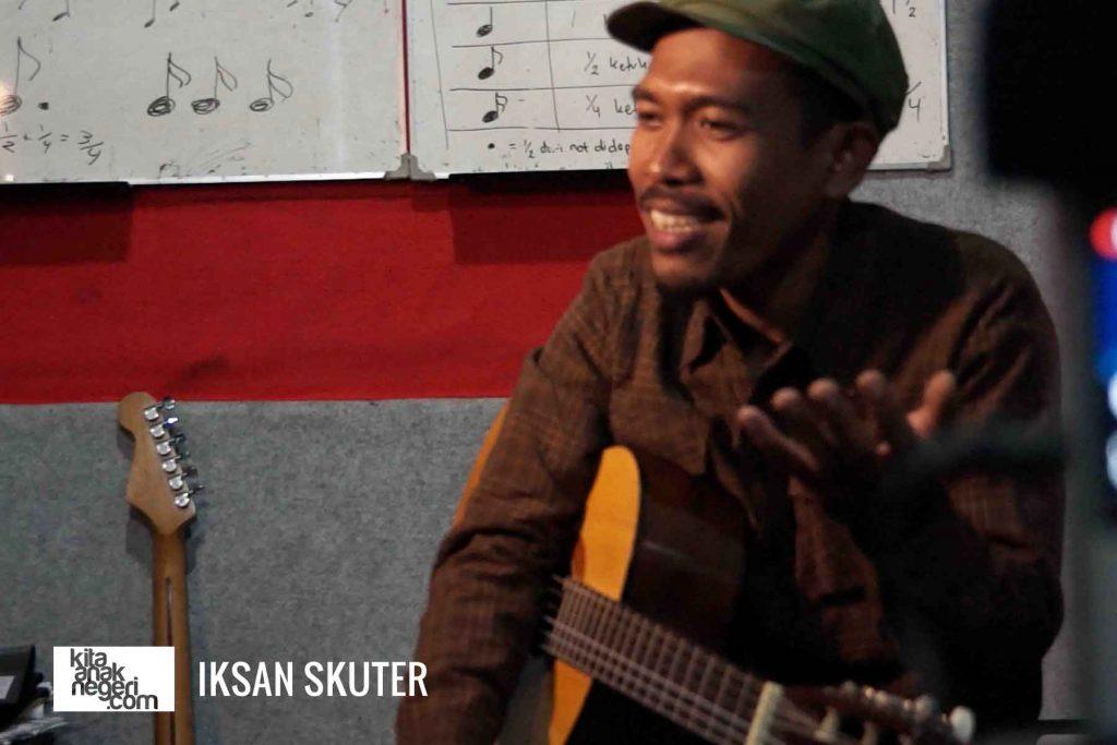 Belajar Karya Musik : Iksan Skuter – Karya sangat penting bagi musisi