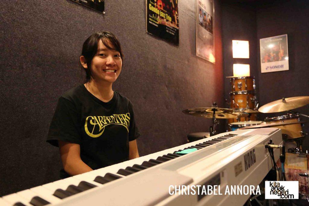Belajar Piano : Christabel Annora – Do tidak harus di C Mayor