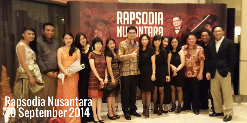 Ananda Sukarlan : Rapsodia Nusantara, 20 September 2014 di Titan Center