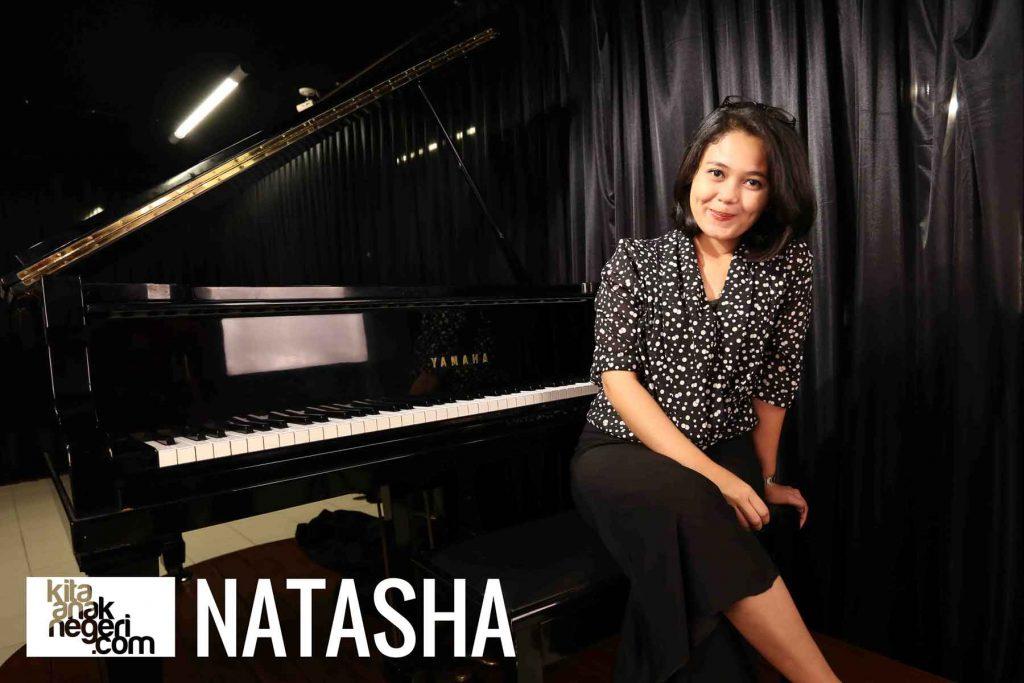 Belajar Menyanyi : Natasha – Singing with Soul