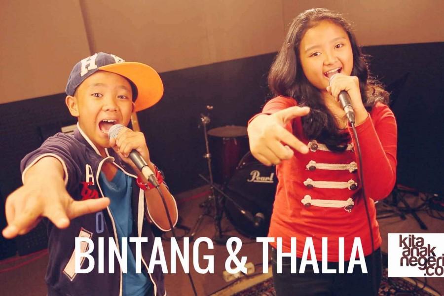 Belajar Menyanyi : Bintang & Thalia