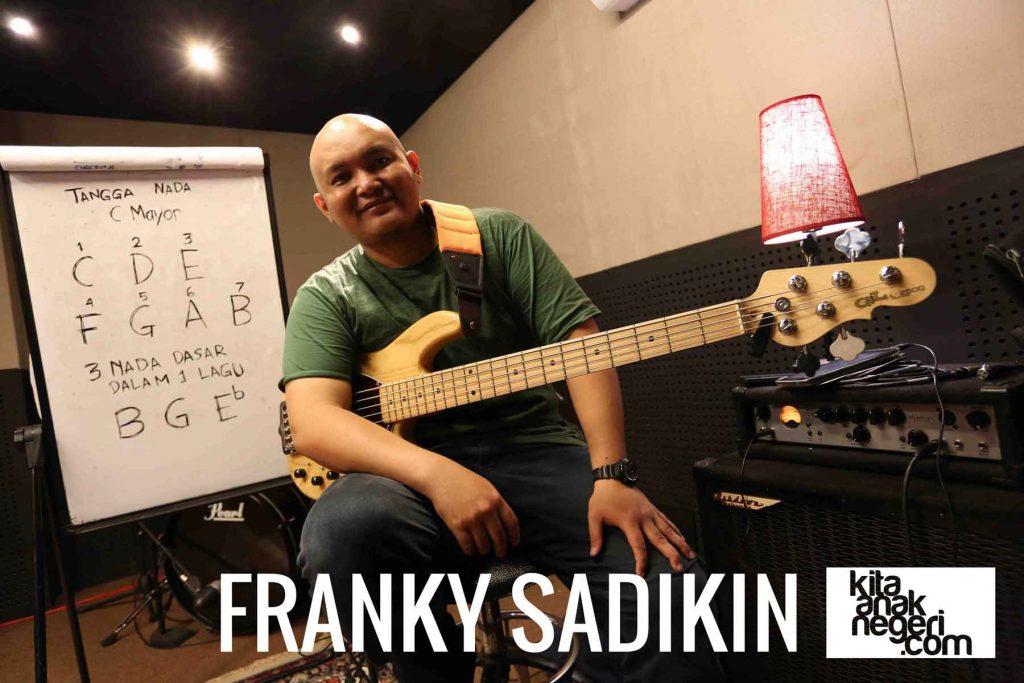 Belajar Bass : Franky Sadikin – Tangga nada C Mayor