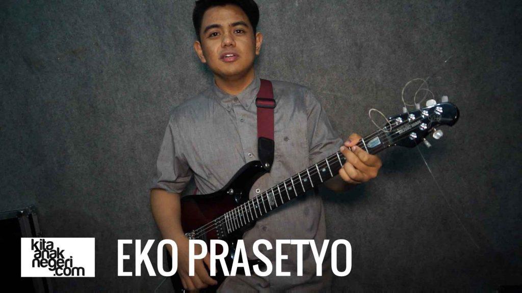 Belajar Gitar Elektrik : Eko Prasetyo – Picking, Fingering, & Shredding