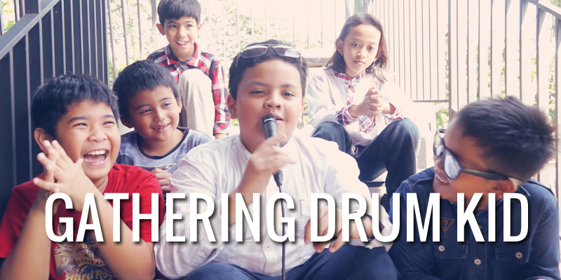 Gathering Murid Drum Kid