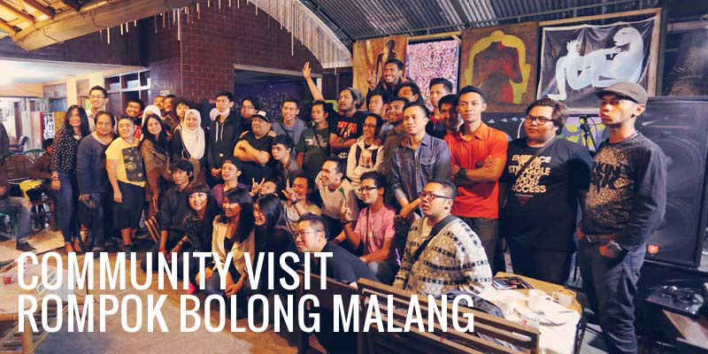 Community Visit : Rompok Bolong Malang