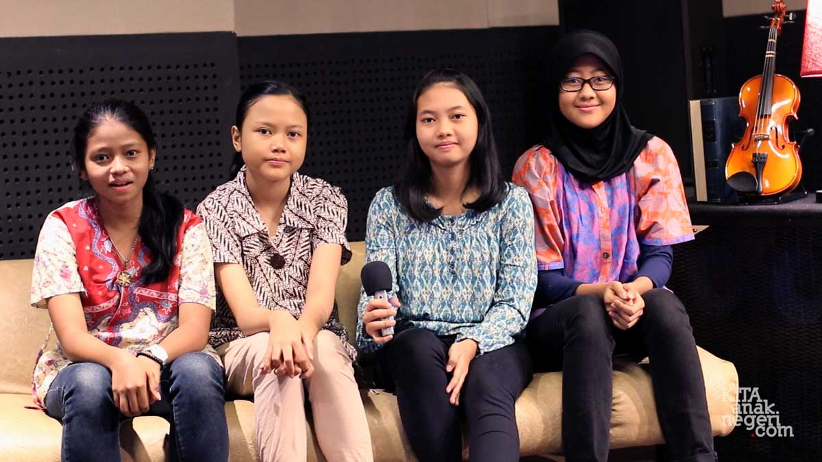 Community Visit : Violin Nusantara