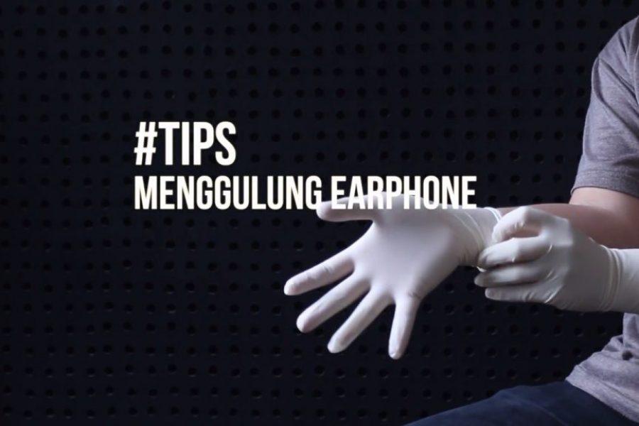 (TipsKITA) Tips Menggulung Kabel Earphone Biar Nggak Kusut