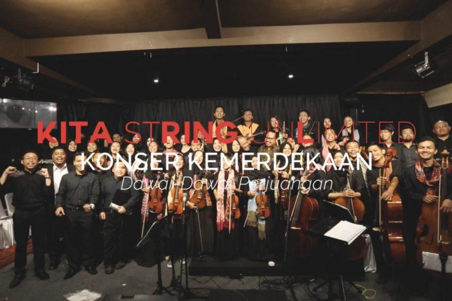 KITA String Unlimited : Konser Kemerdekaan, Konser Orkestra Kebanggaan Warga Depok